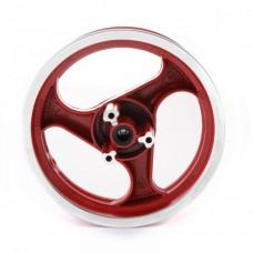 Диск колеса 12 x 3.50 передний диск.торм. Stels Skif (прорезь под спидометр)