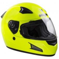 Шлем (интеграл)  HD188  Solid  Hi-Vis желтый глянцевый  XXL