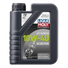 Liqui Moly 7522 Синт.мот.масло для скутеров 4T 10W-40 (1л)