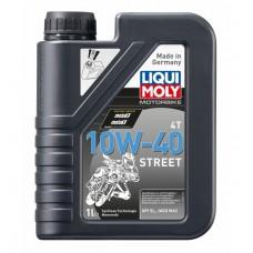 Liqui Moly 7609 Синт.мот.масло д/4-т.мотоц. Motorrad Synth 4T 10W-40 (1л)