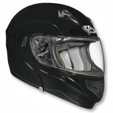 Шлем (модуляр) Vega VERTICE Solid  черный матовый XXL