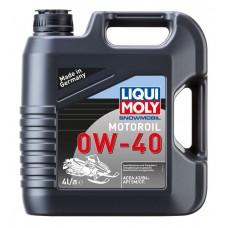 Liqui Moly 2261 Синт.мот.масло д/снегох. Snowmobil Motoroil 4T 0W-40 SM/CF;A3/B3 (4л)