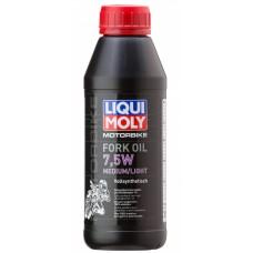Liqui Moly 3099 Синт.масло д/вилок и амортиз. Motorbike Fork Oil Medium/Light 7,5W(0,5л)