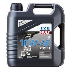 Liqui Moly 7512 Синт.мот.масло д/4-т.мотоц. Motorrad Synth 4T 10W-40 (4л)