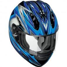Шлем (интеграл)  ALTURA  Vantage синий глянцевый XL