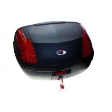 Кофр багажный SM-PARTS YM-0889 (42x55x32см  46л) черн. матовый