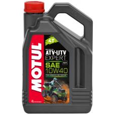 Масло MOTUL ATV-UTV EXPERT 4T 10W40 Technosynthese 4л