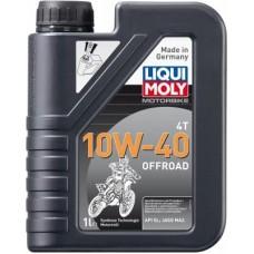 Liqui Moly 3055 НС-синт.мот.масло д/4-т.мотоц.Motorbike 4T Offroad 10W-40 SL;JASO MA2 (1л)