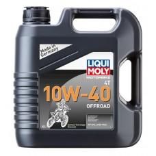 Liqui Moly 3056 НС-синт.мот.масло д/4-т.мотоц.Motorbike 4T Offroad 10W-40 SL (4л)