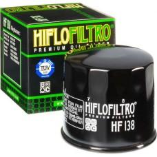 Фильтр масляный Hiflo HF 138 (аналог MW65)