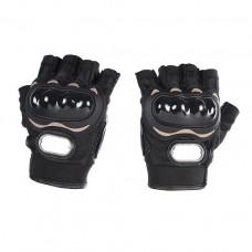 Перчатки текстильные без пальцев RIDING TRIBE MCS-04C черные XXL