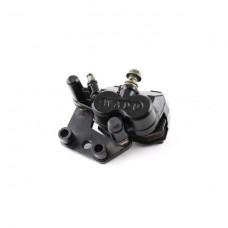 Суппорт передн. диск. тормоза питбайк TTR125 (колодки YX-F028, болт торм.шланга d-8)