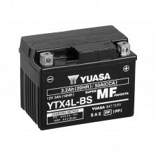 Аккумулятор YUASA MF  YTX4L-BS сухозаряженный
