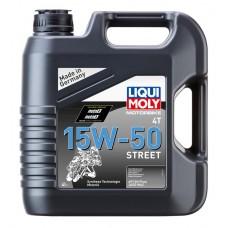 Liqui Moly 1689 Синт.мот.маслод/4-т.мотоц. Motorbike 4T Street 15W-50 (4л)