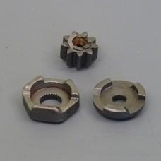 Привод кикстартера + храповик (компл.) Suzuki AD-50