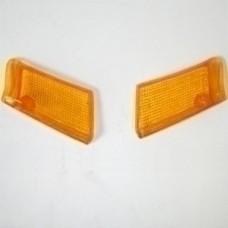 Стекла передних поворотников (пара) Suzuki Sepia/Sepia (old)