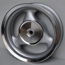 Диск колеса 12 x 3.50 задний бар.торм. Stels Skif (18 шлиц. колодки d-110мм)