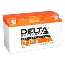 """АКБ """"DELTA"""" СТ 1208  YT7B-BS (150 х 66 х 94)"""