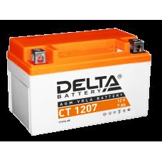 "АКБ ""DELTA"" СТ 1207  YTX7A-BS (150 х 87 х 93)"