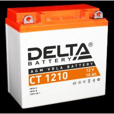 """АКБ """"DELTA"""" СТ 1210  YTX10-BS (135 х 78 х 138)"""