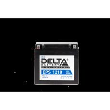 """АКБ """"DELTA"""" EPS 1218  YTX20-BS, YTX20H-BS (176 х 87 х 154)"""
