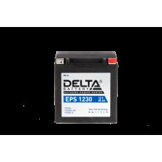 "АКБ ""DELTA"" EPS 1230  YTX30HL-BS, YTX30L-B, YTX30L (166 х 130 х 175)"